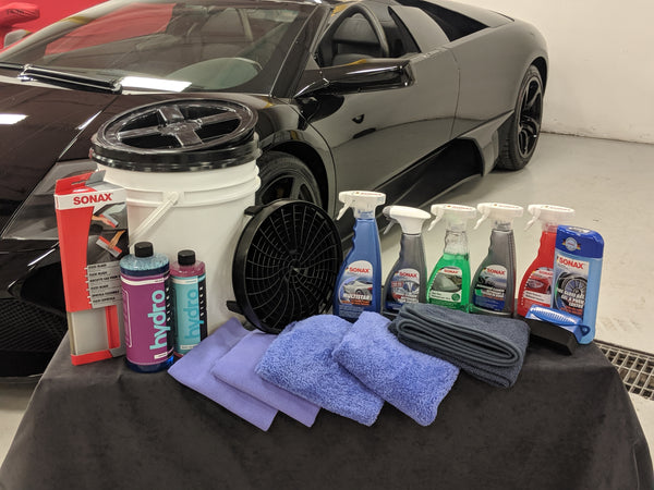 Deluxe Ceramic Coating Car Care Kit