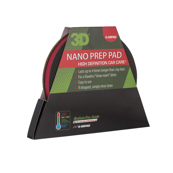 Nano Detailing Pad/ Claybar Alternative