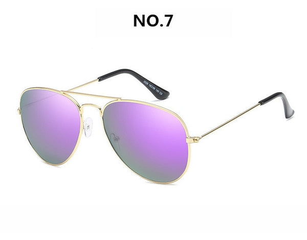 2019 Vintage Metail Frame  Sunglasses Women/Men Brand Designer Small Pilot Retro Classic Sun Glasses Female Oculos De Sol UV400