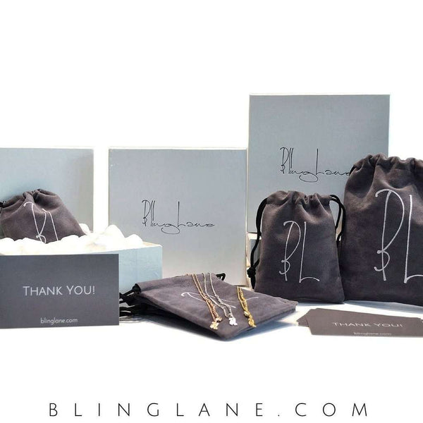 Elite Hanging Solitaires Chain Earrings