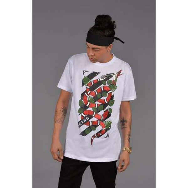 Coral Milk Snake T-Shirt (White)
