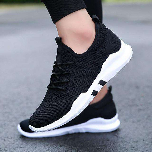 Air Mesh Men Sneakers Casual Shoes Men Fashion White Sneakers Male Shoes Breathable 2018 Loafers Men Footwear Zapatillas Hombre