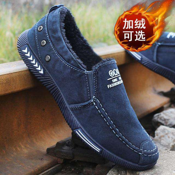 Men Casual Shoes Canvas Shoes For Men Chaussure Homme Autumn Winter Warm Breathable Shoes Men Fashion Sneakers Man Walking 89hoe