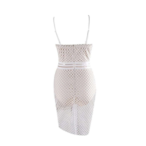 Fishnet Party Dress