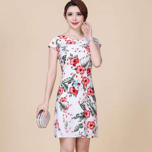 Women Summer style dresses - Plus sizes too.