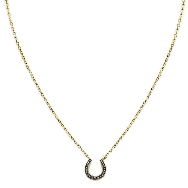Lucky Horse Shoe Necklace