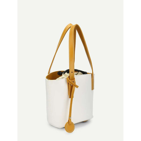 Bucket Bag With Convertible Strap