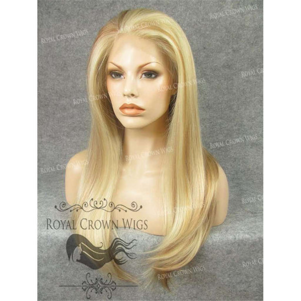 24 inch Heat Safe Synthetic Straight Texture Lace Front