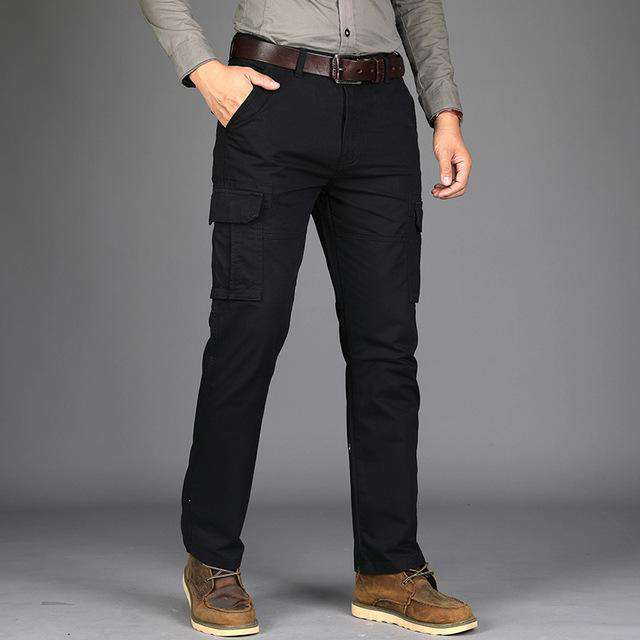 Mens Autumn Stretch Thicken Jeans with Warm Comfortable and breathable Skinny Jean Pants Trousers Size 3509