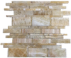 "HONEY ONYX 2"" X 2"" MOSAIC"
