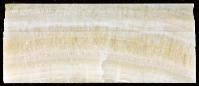"HONEY ONYX 4 3/4"" X 12"" BASE MOLDING POLISHED"