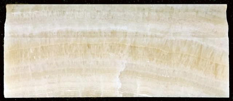 "HONEY ONYX 2"" X 12"" CAPITAL MOLDING HONED"