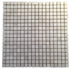 PACIFIC GRAY BASKETWEAVE WITH WHITE ABSOLUTE DOT MOSAIC
