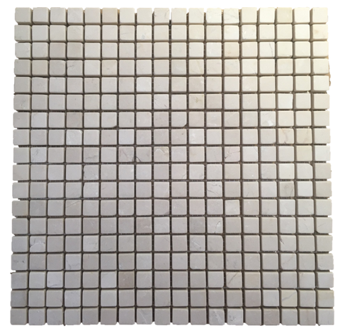 WHITE ABSOLUTE HONEYCOMB WITH MING GREEN MOSAIC