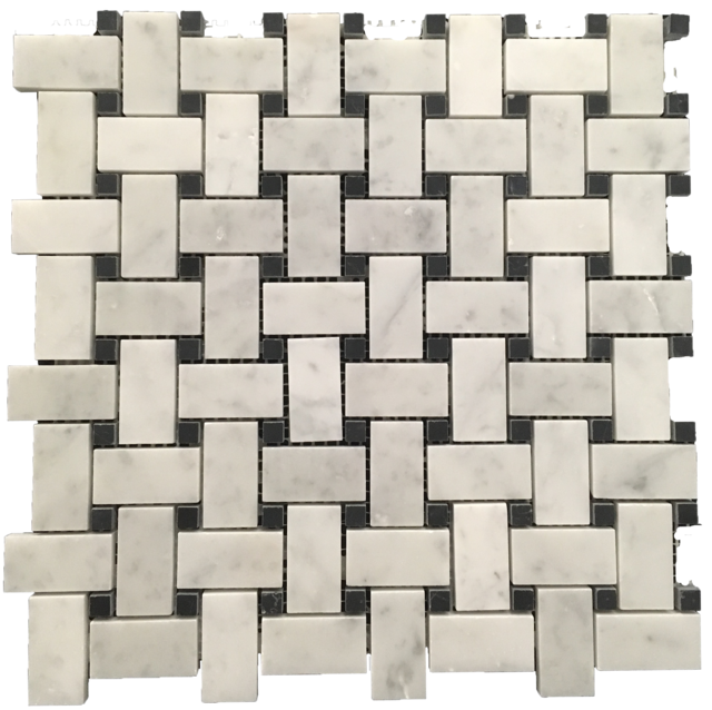 CARRARA BASKETWEAVE