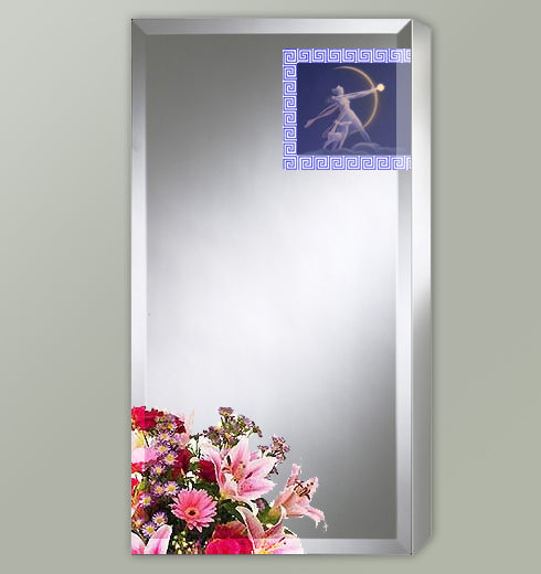 Single Door Recess Medicine Cabinet - 18 x 30
