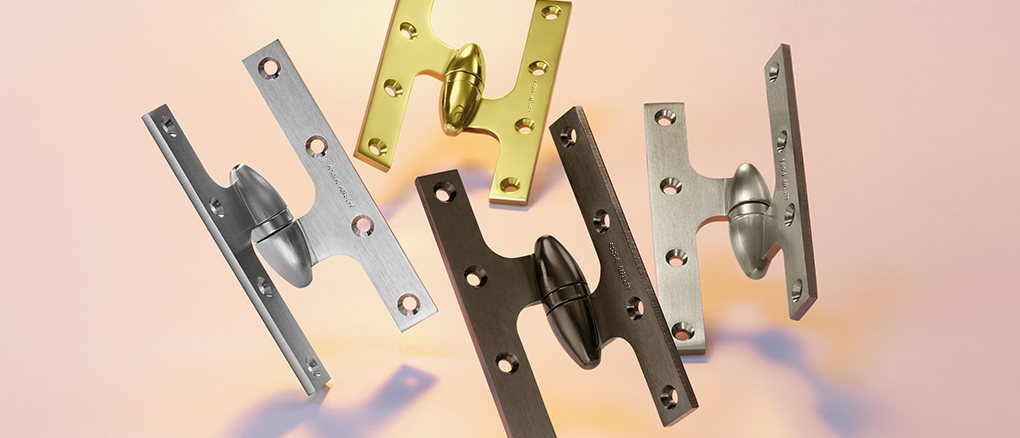 McKinney Olive Knuckle Decorative Hinges