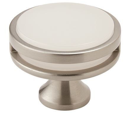 OBERON 1-3/4in(44mm) Frosted Diameter Knob