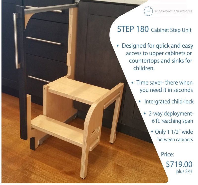 Step 180 Cabinet Step Stool