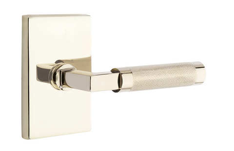 EMTEK SELECT, L-Square Tribeca Lever