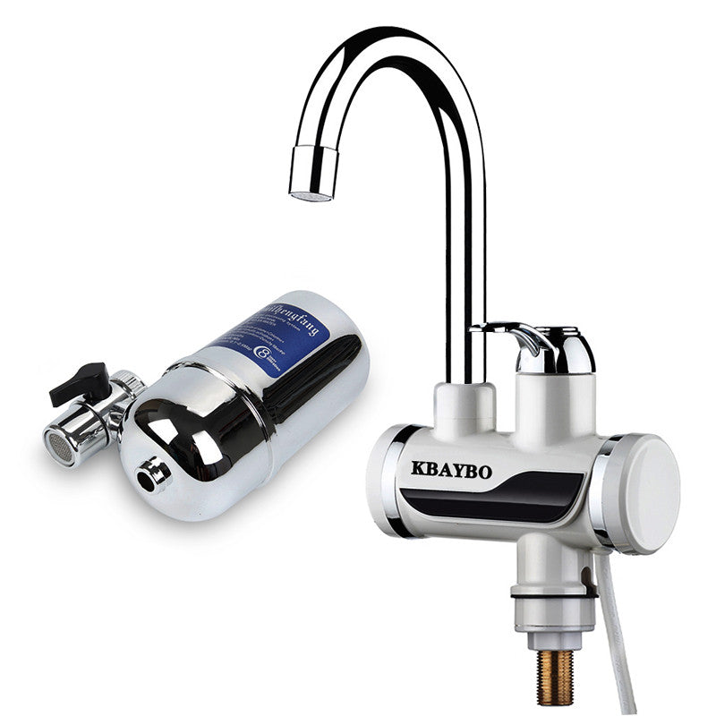 Instant electric Water Heater Tap Kitchen faucet water filter