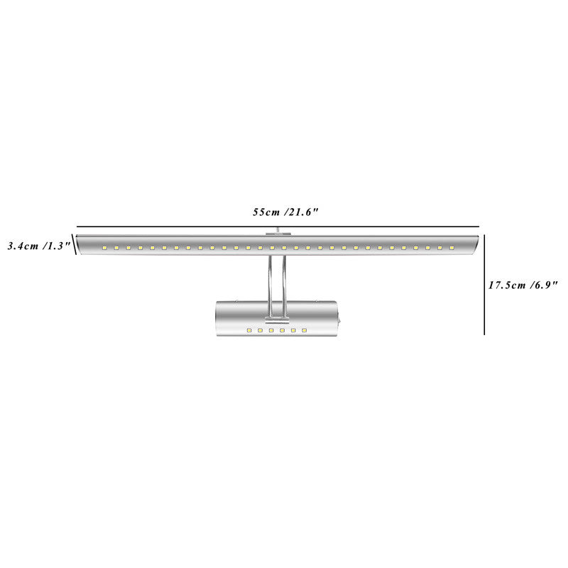 550mm Adjustable 7W Wall Lamp