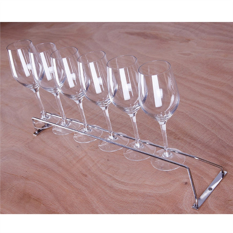Stainless Steel Stemware Wine Rack Holder