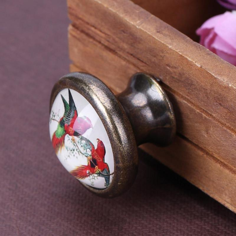 Zinc Alloy Handles Cabinet Drawer Knobs Kitchen Cupboard Drawer Cabinet Wardrobe Handle Pull Handle With Screw Furniture Handle