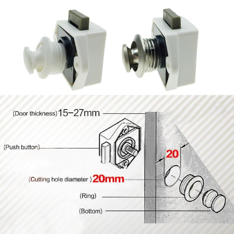 Push Lock Latch Knob
