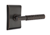 EMTEK SELECT, T-Bar Hammered Lever