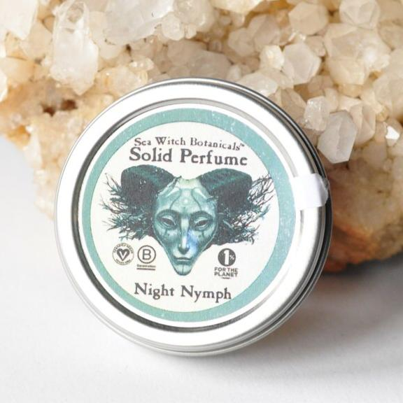 Night Nymph Solid Perfume (clove, fir needle, patchouli, rosemary)
