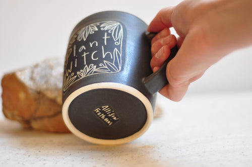 rusty orange velvet deck pouch (smaller size)
