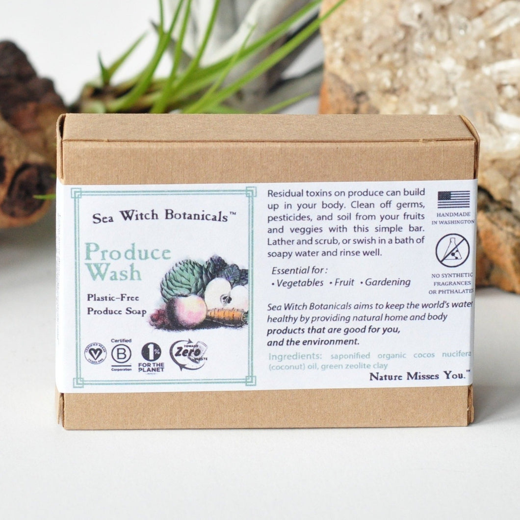 Produce wash sea witch botanicals