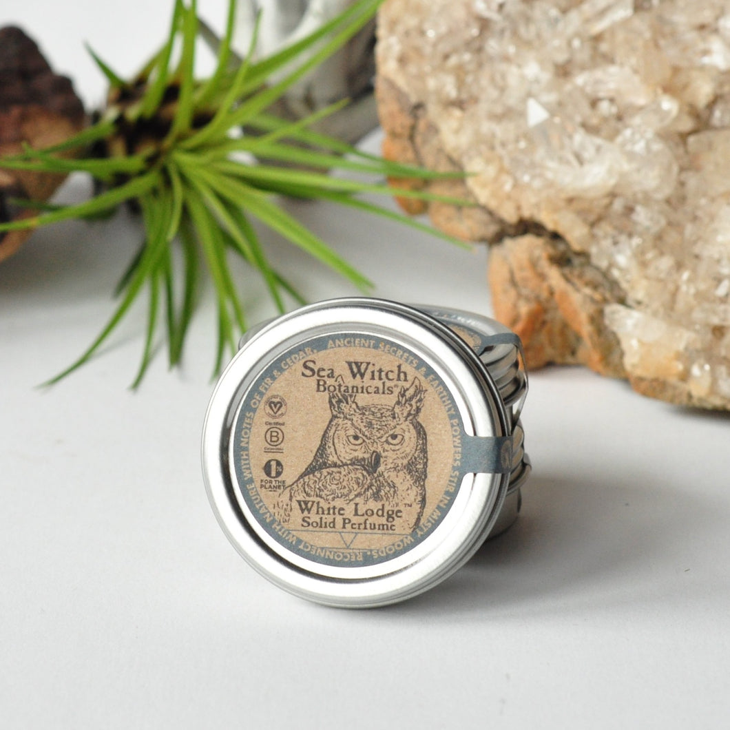 White Lodge Solid Perfume