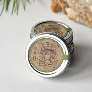 Green Fairy Solid Perfume (star anise)