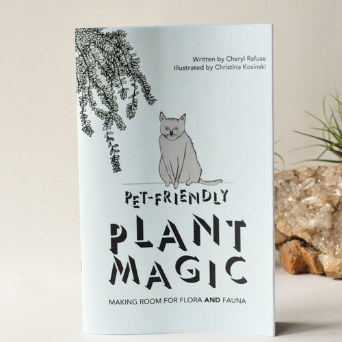Pet Friendly Plant Magic Zine