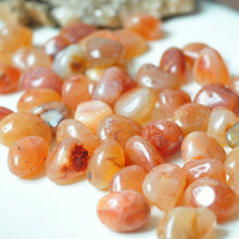 Load image into Gallery viewer, Carnelian tumbled stone