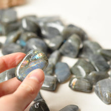 Load image into Gallery viewer, Labradorite tumbled stone