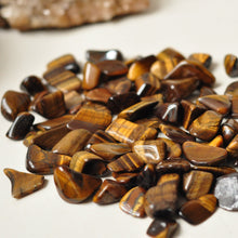Load image into Gallery viewer, Tiger Eye tumbled stone