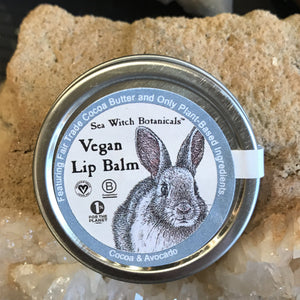 Vegan lip balm sea witch botanicals