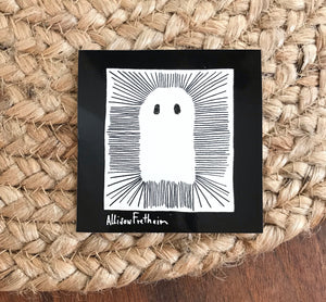 Ghost sticker