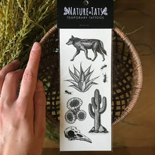 Load image into Gallery viewer, Desert Wild temporary tattoo
