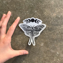 Load image into Gallery viewer, Luna Moth Sticker