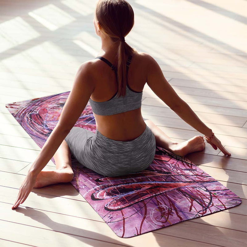 yoga mat for sweaty palms and feet