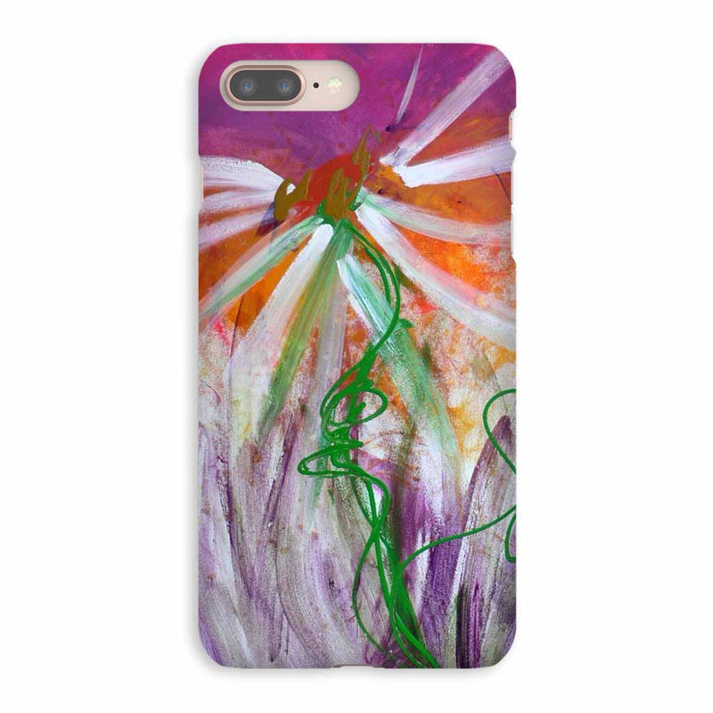 Designer Floral iPhone 8 Plus Case