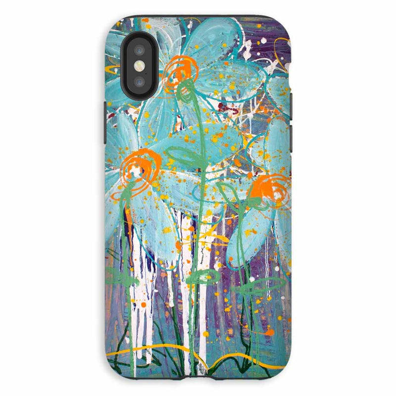 Designer Floral iPhone XS Cases