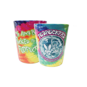 Tye Dye Shot Glass