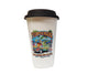 VW Bus Ceramic Travel Mug