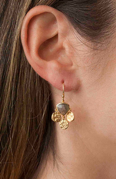Lotus Earring Gold