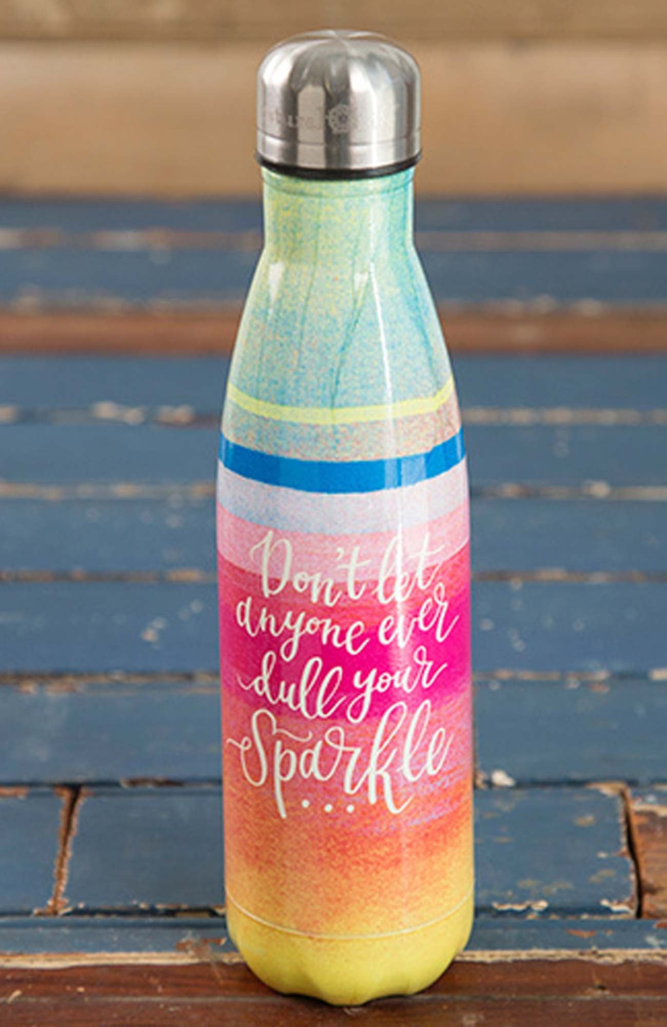 Double-Wall Water Bottle Sparkle